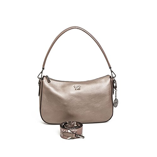 Borsa Donna Sacca | Y-Not Soft Leather | SL06A17A-metal bronze