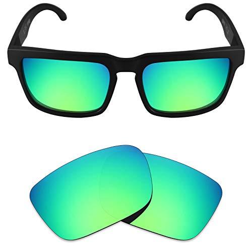 Mryok Polarized Replacement Lenses for Spy Optic Helm - Emerald Green (Spy Helm Lenses)