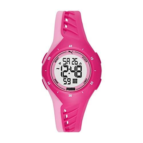 ساعت مچی پوما مدل P6008 با بدنه پلی اورتان و بند پلاستیکی