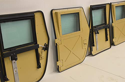 NEW HUMVEE MILITARY X-DOORS - TAN - SET OF 4 - M998 for sale  Delivered anywhere in Canada