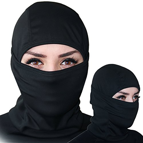 Self Pro Balaclava - Windproof Ski Mask - Cold Weather Face Mask Motorcycle Neck Warmer or Tactical Balaclava Hood - Ultimate Thermal Retention in Outdoors Hypo-allergenic Moisture Wicking