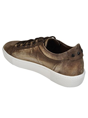 Tod's Used Leather Sneakers Marrone Uomo outlet shop Pf9JSmw1