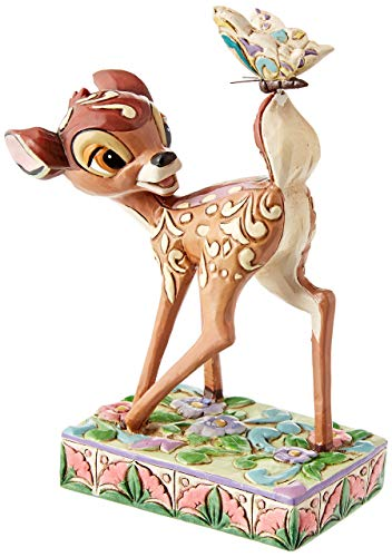 - Disney Traditions  4010026 Bambi Personality Pose Figurine 4-3/4-Inch