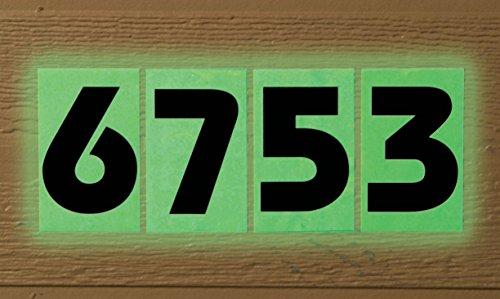 WalterDrake Glow In Dark House Numbers