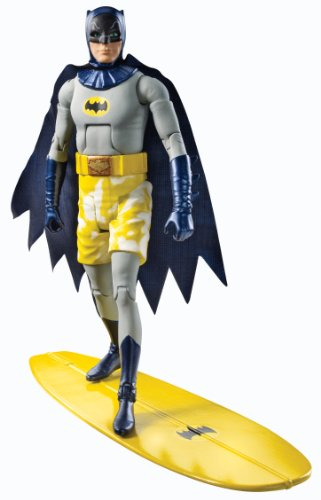 Batman Classic TV Series Surfs Up Batman Collector Action Figure