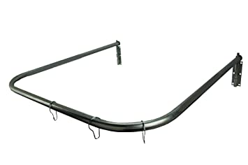 30 X 30 Inch Removable Shower Rod