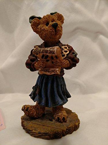"""Justina, the Choir Singer"" Boyds Bears Figurine"