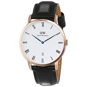 Daniel Wellington Reloj Analógico para Hombre de Cuarzo con Correa en Cuero DW00100084 5