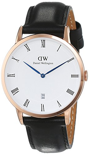 Orologio-Donna-Quarzo-Daniel-Wellington-display-Analogico-cinturino-Grigio-e-quadrante-Bianco-1101DW