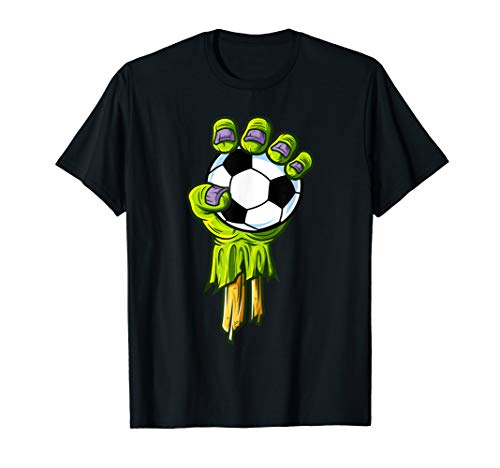 Soccer Themed Halloween Costumes (Zombie Hands Soccer Funny Horror Scary Halloween Costume)