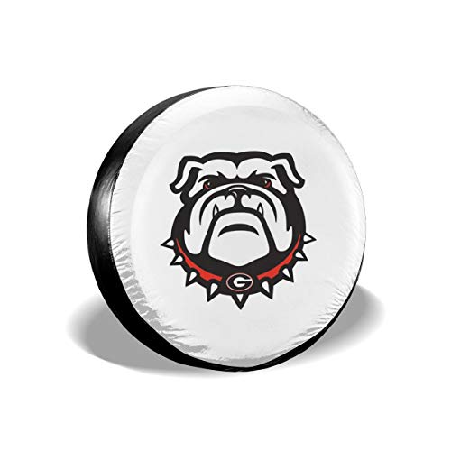 Szipry Tire Cover Personalized - Georgia Bulldogs,Customized Novelty Waterproof Spare Tire Cover for Camper, Trailer,Truck