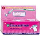 Sabco Clean and Flush Toilet Brush Refills