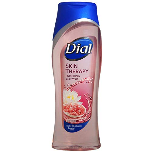 Dial Skin Therapy Replenishing Body Wash, Himalayan Pink Salt & Water Lily 16 oz (Pack of (Pink Water Dial)