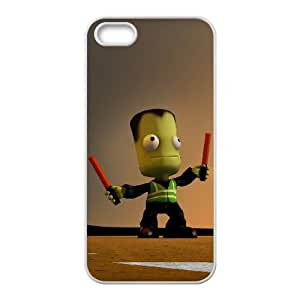 Kerbal Space Program iPhone 4 4s Cell Phone Case White xlb2-209832