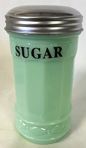 Jadeite Green Restaurant Style Sugar Shaker Dispenser
