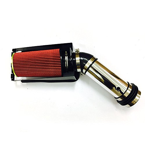 Perfit formance Cold Air Intake Kit fit for 1999 2000 2001 2002 2003 ford F250/F350 Super Duty/Excursuion 7.3L V8(Red) (2000 Ford F250 Cold Air Intake)