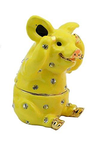 Special Color Lemon Pig Funny Trinket Box
