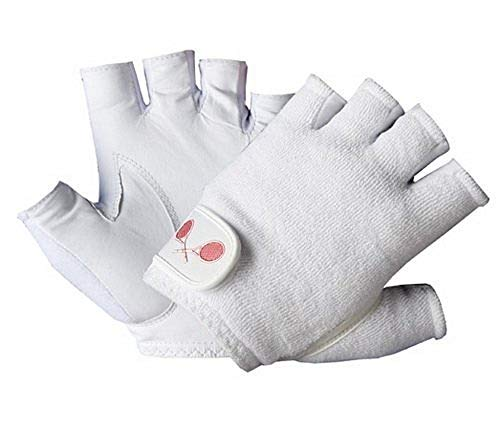 Unique Sports Tourna Men's Half Finger Tennis Glove (X-Large, - Glove Tennis