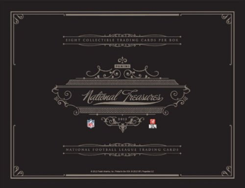 National Treasures Football Hobby Box (1 (One) - 2012 Panini National Treasures Football Hobby Box)