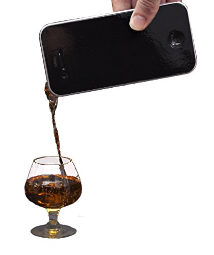 Technology hipsters: heads-up! Here's the freshest, must-have gadget in your collection. Seriously! Introducing the iDrink Phone Flask by Parody Products. Ingeniously designed to be sleek and discreet, this modern day Flask holds up to a chee...