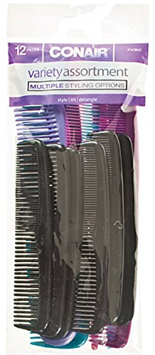 Conair -12 Pack Assorted Combs