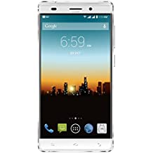 """POSH MOBILE ULTRA MAX 4G LTE ANDROID GSM UNLOCKED DUAL SIM 5.5"""" HD SMARTPHONE, PLUS-sized HD display, 8MP Camera and 16GB of Storage. 1 Year warranty. (L550 WHITE)"""