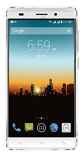 "POSH MOBILE ULTRA MAX 4G LTE ANDROID GSM UNLOCKED DUAL SIM 5.5"" HD SMARTPHONE, PLUS-sized HD display, 8MP Camera and 16GB of Storage. 1 Year warranty. (L550 WHITE)"