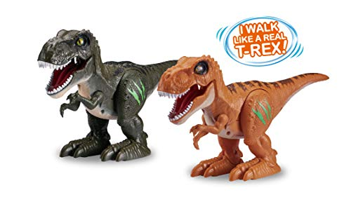 Robo Alive New ZURU Robotic Attacking Roaring T-Rex Dino Toy