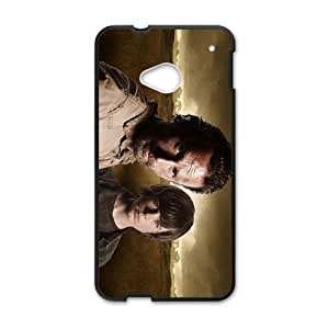 HTC One M7 Cell Phone Case Black The Walking Dead S0386799