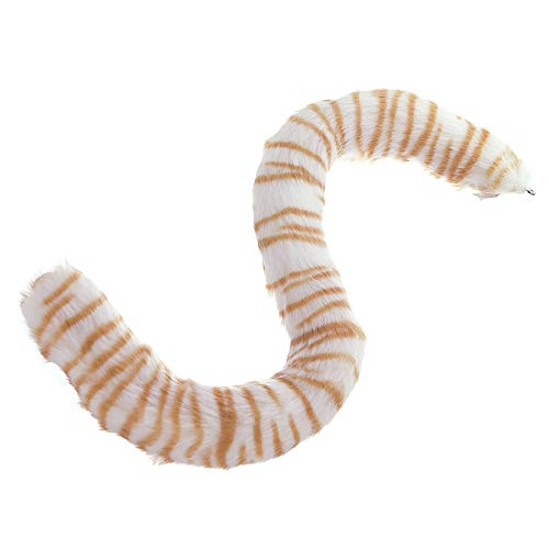 E-TING Cat Tail Long Fur Neko Anime Cosplay Party Costume Lady Girls(Cute Tiger Cat Tail)
