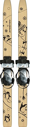 sporten First Step XC Skis for Kids with Adjustable Bindings 80cm by sporten