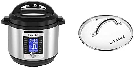 Instant Pot Ultra 10-in-1 Electric Pressure Cooker, 8 Quart, 16 One-Touch Programs & Genuine Instant Pot Tempered Glass lid, Clear 10 Inch (26 cm) 8 Quart