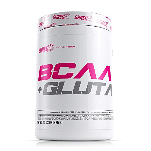 SHREDZ BCAA Glutamine Supplement Powder Made For Women