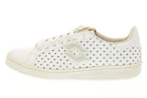AUTÓGRAFO de plata bajos deporte LOTTO zapatillas S8865 zapatos Blanco qfYEz4w