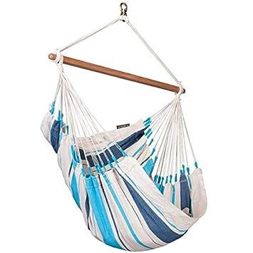 LA SIESTA Hammock Chair Basic Caribe a Aqua Blue