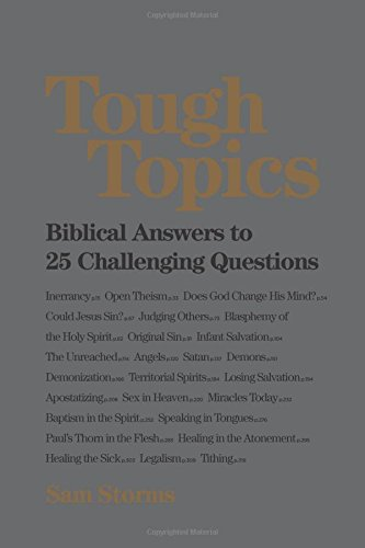 Tough Topics: Biblical Answers to 25 Challenging Questions PDF