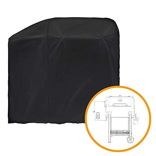 i COVER Grill Cover Designed for Pit Boss 700FB Wood Pellet Grills, Heavy Duty Waterproof Canvas Black Barbeque BBQ…