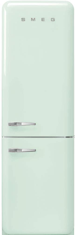 Pastel Green Right Hand Hinge Smeg FAB32URPG3 50s Retro Style Aesthetic 24 50/'S Style Refrigerator With Automatic Freezer