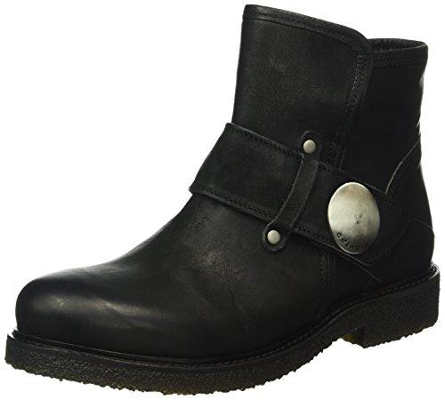 cashott A16050, Zapatillas de Estar por Casa para Mujer Negro - negro (Black 2001)
