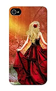 Resignmjwj C4f9b9f5077 Case Cover Iphone 5/5s Protective Case Princess Going Into The Forest ( Best Gift For Friends)