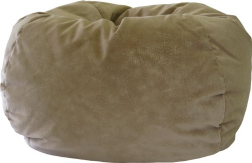 Gold Medal Bean Bags 30014058909 XX-Large Fairview Suede Bean Bag, Buff by Gold Medal Bean Bags