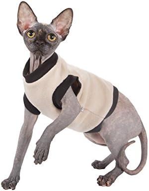 Kotomoda ropa para gatos BIEGE FLEECE (S)