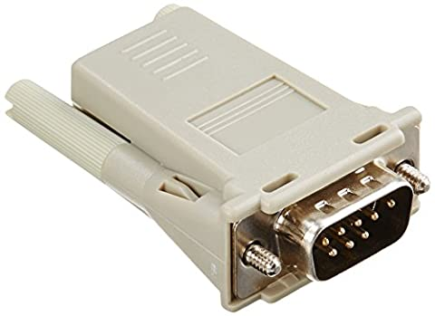 RJ45 To DB9M Cross Converter Comp with all Cyclades Serial Prdts
