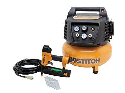 BOSTITCH BTFP72665 1-Tool and Compressor Combo Kit