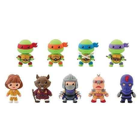 Las tortugas Ninja 3d Figural serie 1 Clave Cadena Caja ...