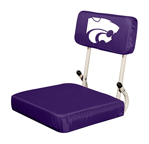 Logo Brands NCAA Kansas State Wildcats Hard Back Stadium Seat