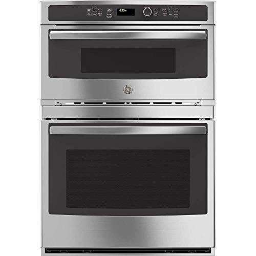 GE JT3800SHSS 30″ Stainless Steel Electric Combination Wall Oven (Certified Refurbished)