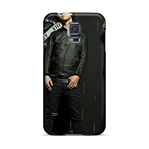 Bumper Hard Cell-phone Cases For Samsung Galaxy S5 With Unique Design Lifelike Green Day Band Skin CharlesPoirier