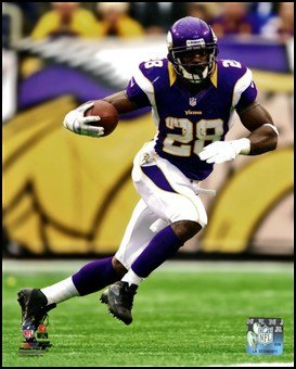 Adrian Peterson 2012 Action Art Poster Print Unknown