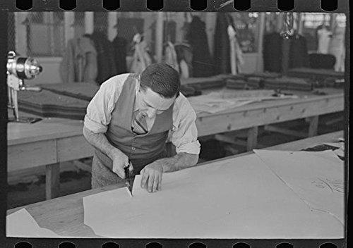 Historicalfindings Photo  Louis Gushen Garment Factory Jersey Homesteads Highstown New Jersey Nj Fsa